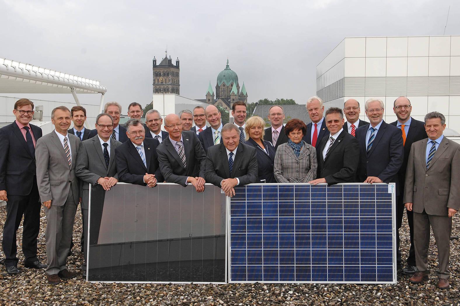 Solarpotenzialkataster der NEW Energie.