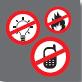 Erzeugen Sie keine Flammen oder Funken, wenn Sie Gas im Haus riechen.