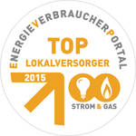 Ausgezeichnet als TOP-Lokalversorger - NEW Energie