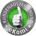 Ausgezeichnet vom Bewertungsportal eKomi - NEW Energie